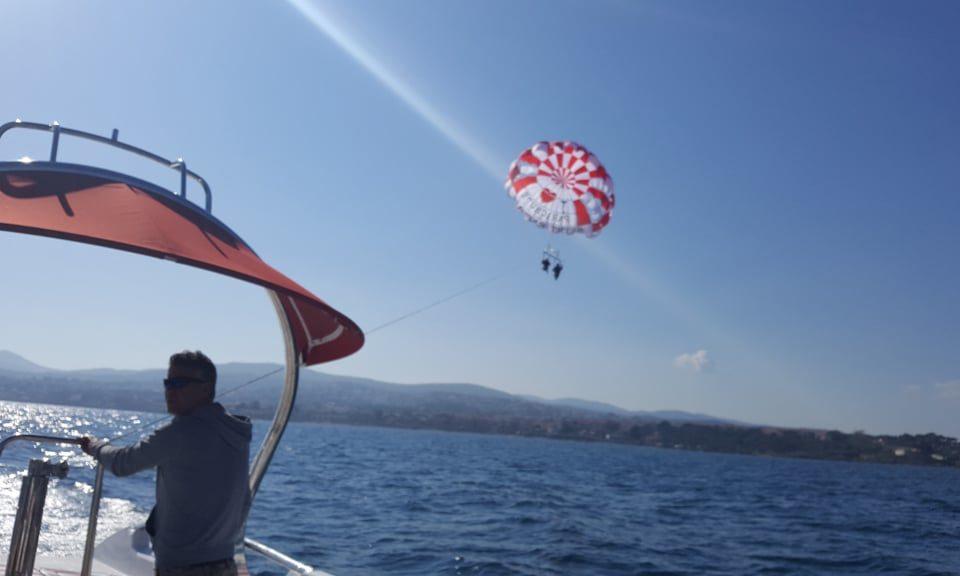 Parachute ascensionnel - Baie de Saint Raphael - parachute-st-raphael.com