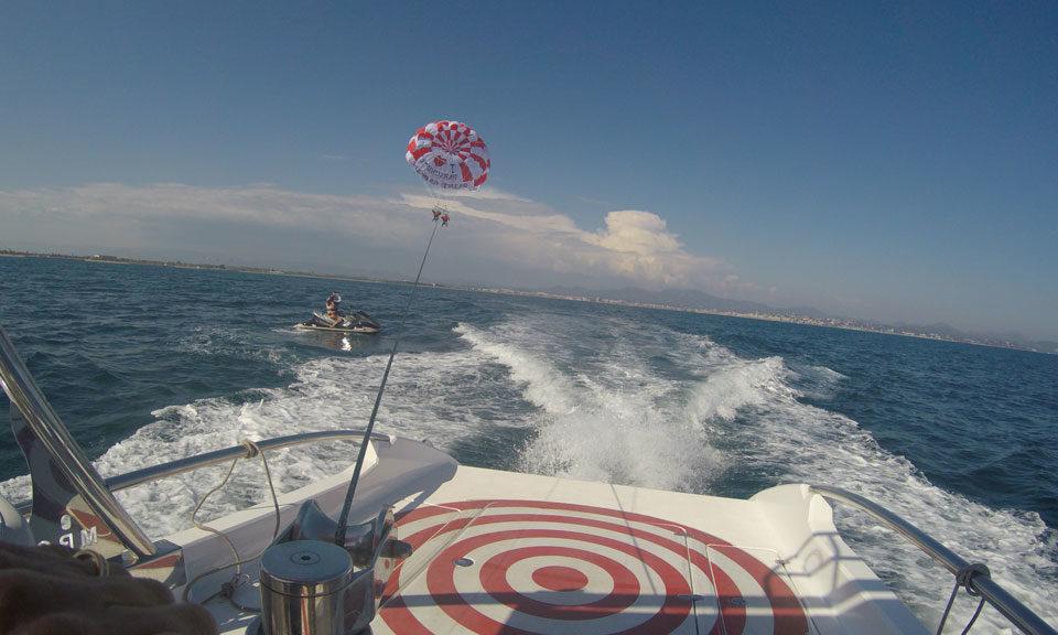 Baie de Saint Raphael - parachute-st-raphael.com